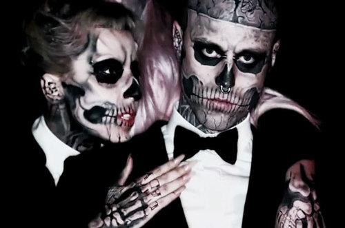 zombie boy e lady gaga