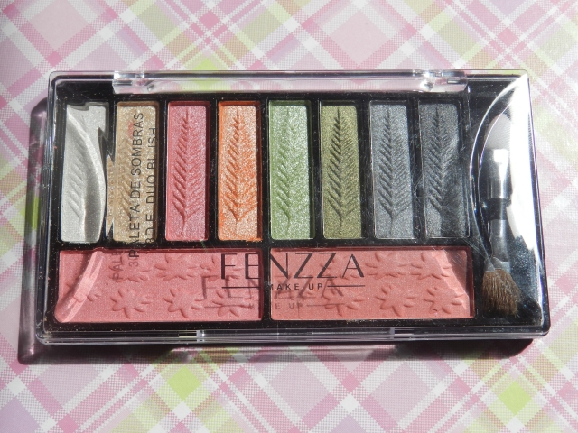 paleta de sombras fenzza make up