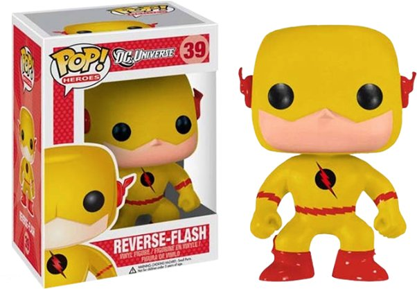Funko Pop - TheFlash4 flash reverso