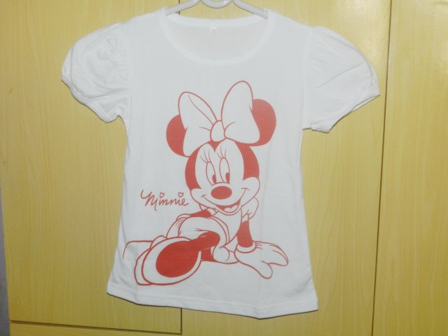 aliexpress camiseta infantil minnie